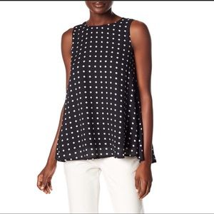 Philosophy Petite Polka dot tank black&white  XS